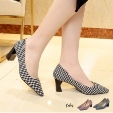 Fendy Square Heels