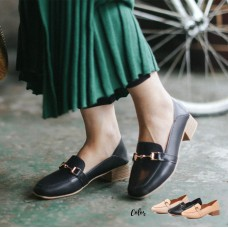 Oxford Mid Heels