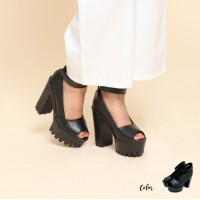 Noble Street Strap Ankle Clogs