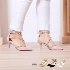 Calvin K Studded Heels