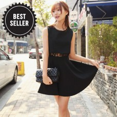 Slim Thin Lace Stitching Dress