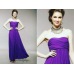 ELEGANT PURPLE LONG GOWN