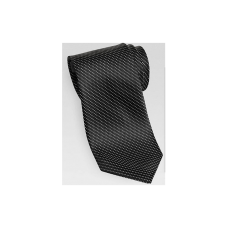 BLACK MINI CHECK NARROW TIE