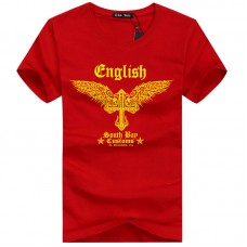 ENGLISH RED T-SHIRT