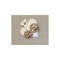 Channel Design Earrings