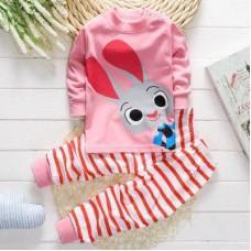 Pink rabbit Set Clothes