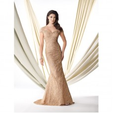 Classy Shoulder Gown