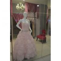 Pink Elegant Wedding Dress